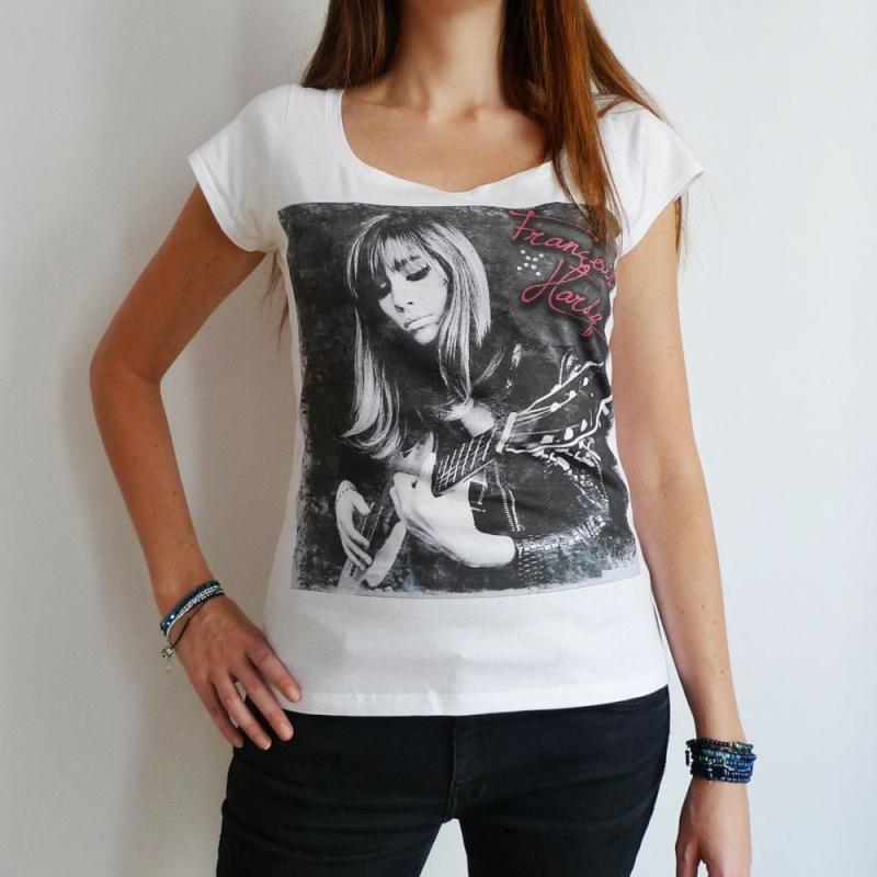 Quatre T shirts et un cabas (!) pour Françoise Hardy ... 92396910