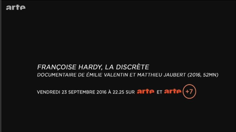 23 septembre 2016 - Arte - Françoise Hardy, la discrète Image111