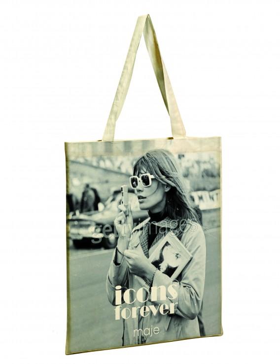 Quatre T shirts et un cabas (!) pour Françoise Hardy ... Maje-110