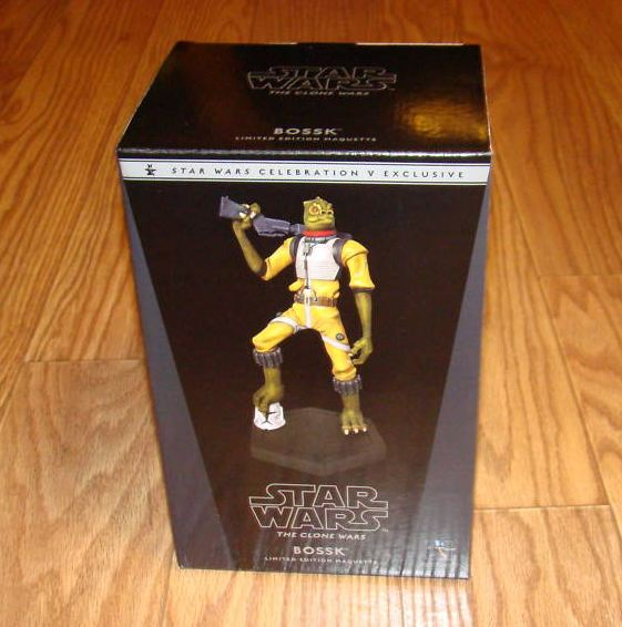 Gentle Giant - BOSSK - Animated Maquette Bossk_10