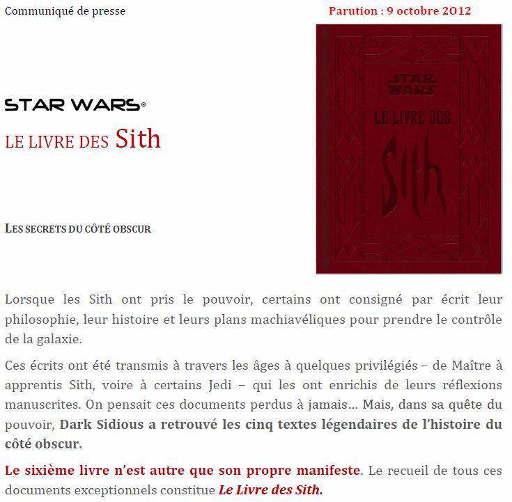 Book of Sith (VO) - le livre des Sith (VF) - Page 4 Livre_11