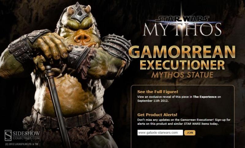 Sideshow - Mythos - Lomrokk - Jabba's Gamorrean Executioner Mythos10