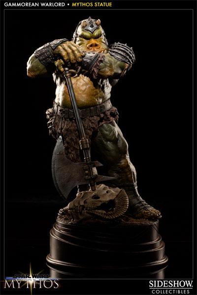Sideshow - Mythos - Lomrokk - Jabba's Gamorrean Executioner Mythos12