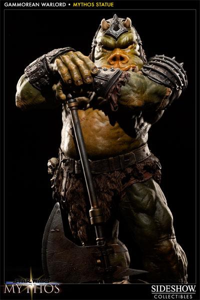 Sideshow - Mythos - Lomrokk - Jabba's Gamorrean Executioner Mythos13