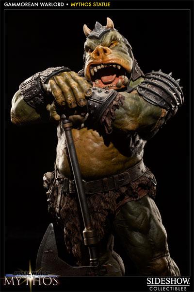 Sideshow - Mythos - Lomrokk - Jabba's Gamorrean Executioner Mythos20