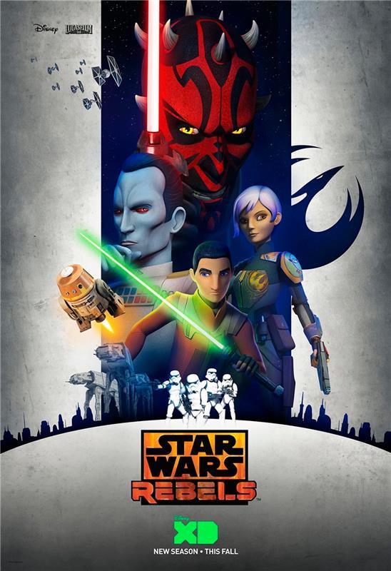 Star Wars Rebels Saison 3 Poster11