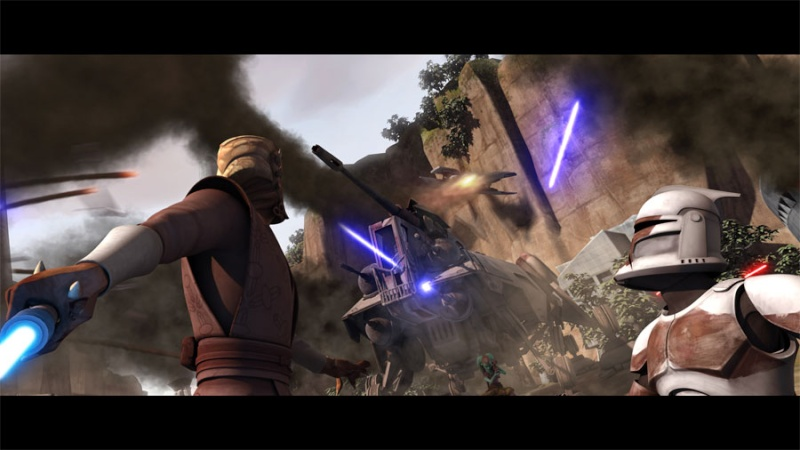 STAR WARS - THE CLONE WARS - NEWS - NOUVELLE SAISON - DVD - Page 17 Theclo10