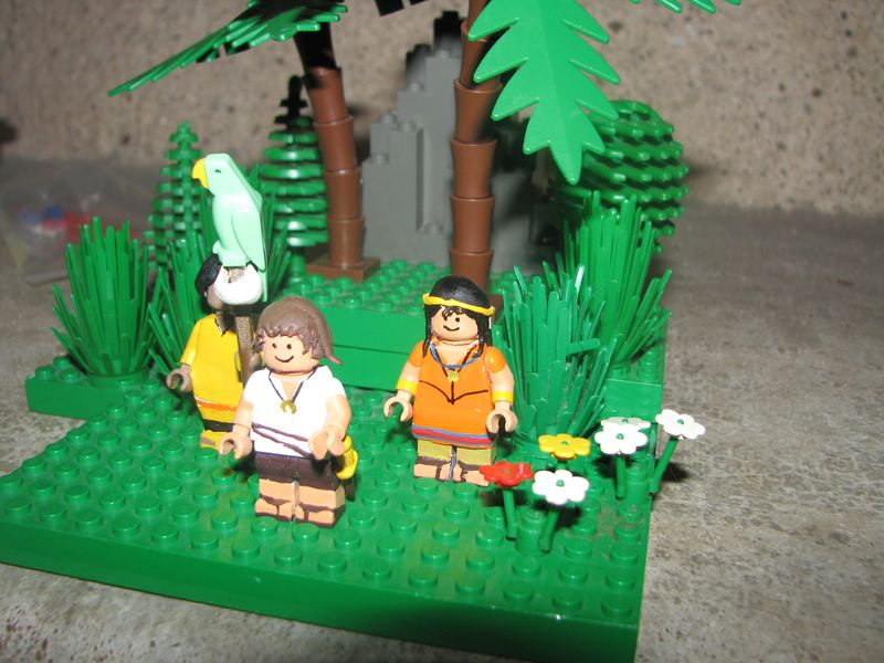 Customs lego  personnages de DA 80's de Fabax 212