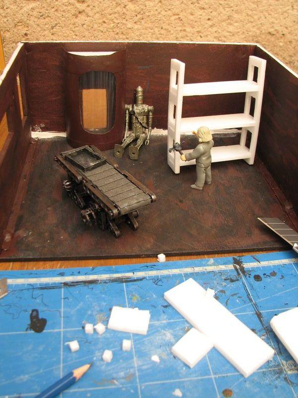"Making of diorama ""La fonderie de Bespin"" star wars vintage 4_800x10"