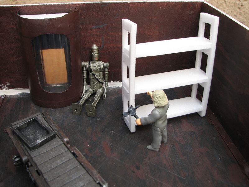 "Making of diorama ""La fonderie de Bespin"" star wars vintage 5_800x10"