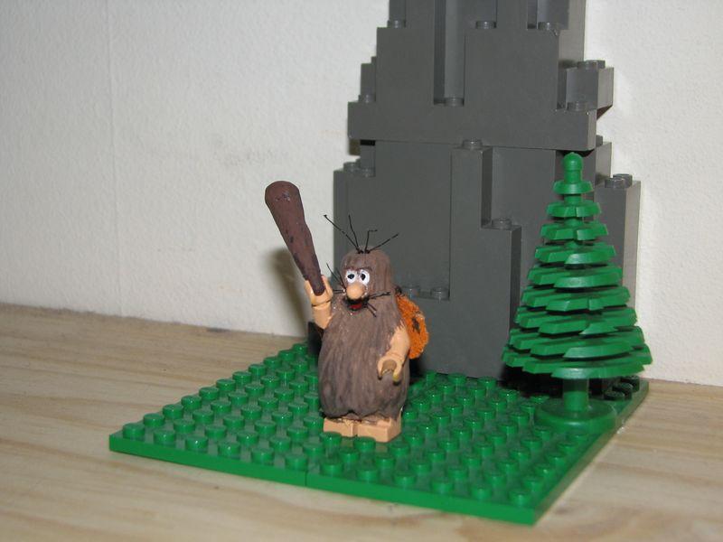 Customs lego  personnages de DA 80's de Fabax Capita10
