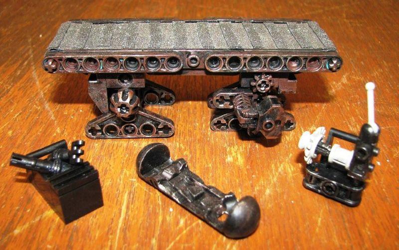 "Making of diorama ""La fonderie de Bespin"" star wars vintage Convoy10"