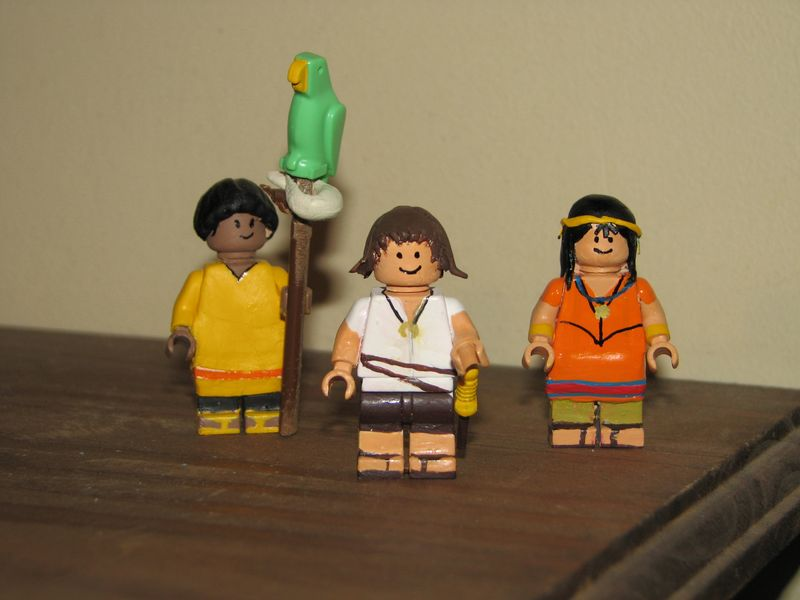 Customs lego  personnages de DA 80's de Fabax Custom10
