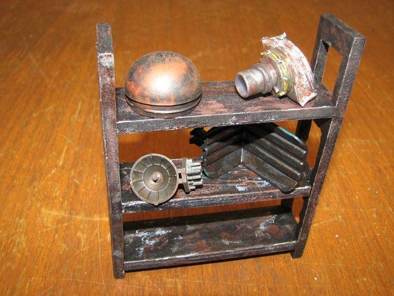 "Making of diorama ""La fonderie de Bespin"" star wars vintage Etagar10"