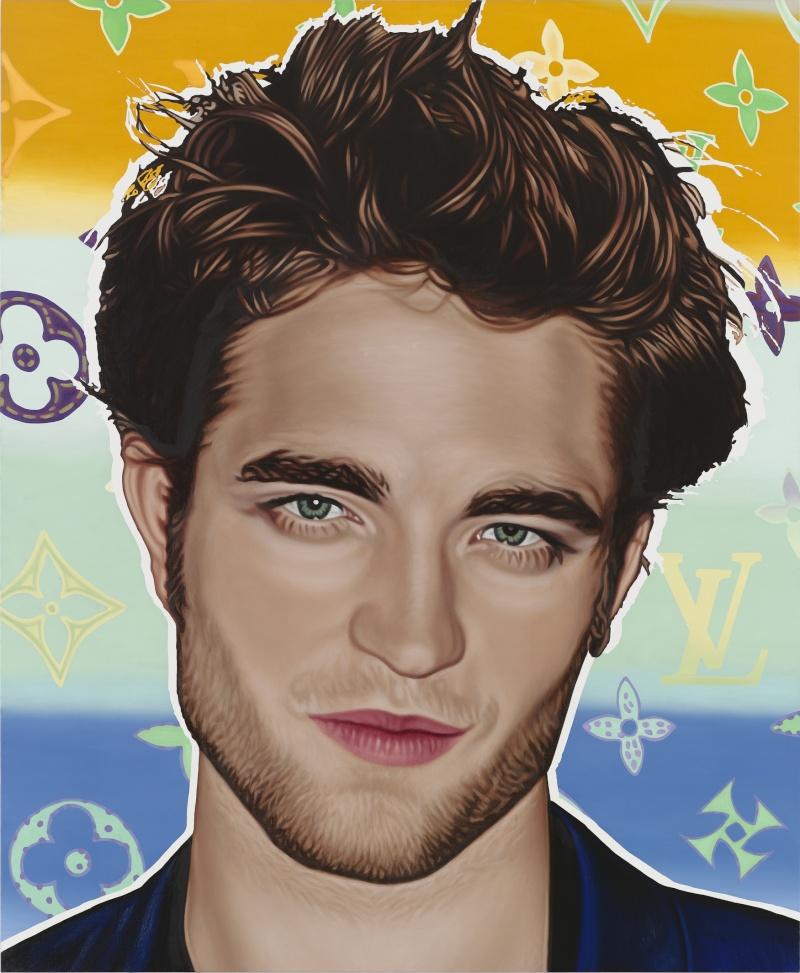 Richard Phillips parle avec Vanity Fair de son portrait de Robert Pattinson 10_mos10