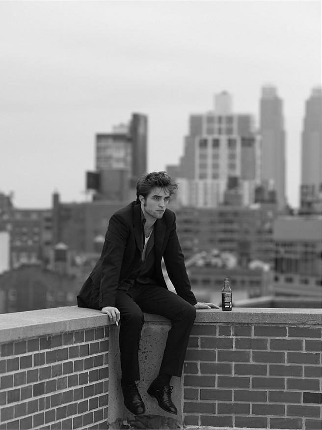 Shooting photo de Robert Pattinson pour la promo de Remember Me en 2009 Shooti11