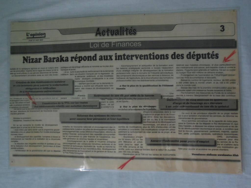 HAUSSE DE LA TVA ....Exactions et bavures fiscales d'un Gouvernement en fin de mission.      Dsc09215