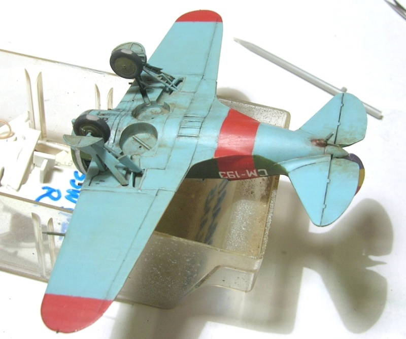 Montage: Polikarpov I-16 type 10 1/72 - Page 2 Montag10