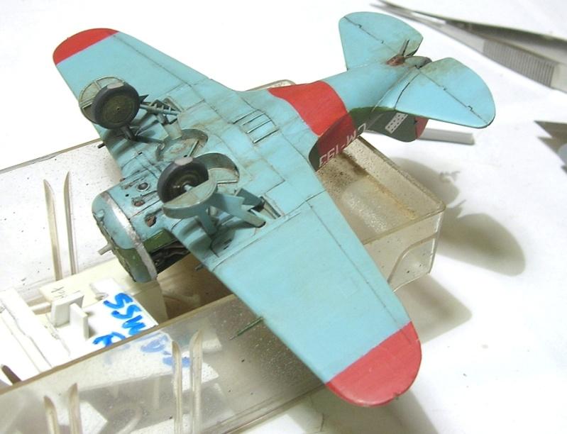 Montage: Polikarpov I-16 type 10 1/72 - Page 2 Montag11