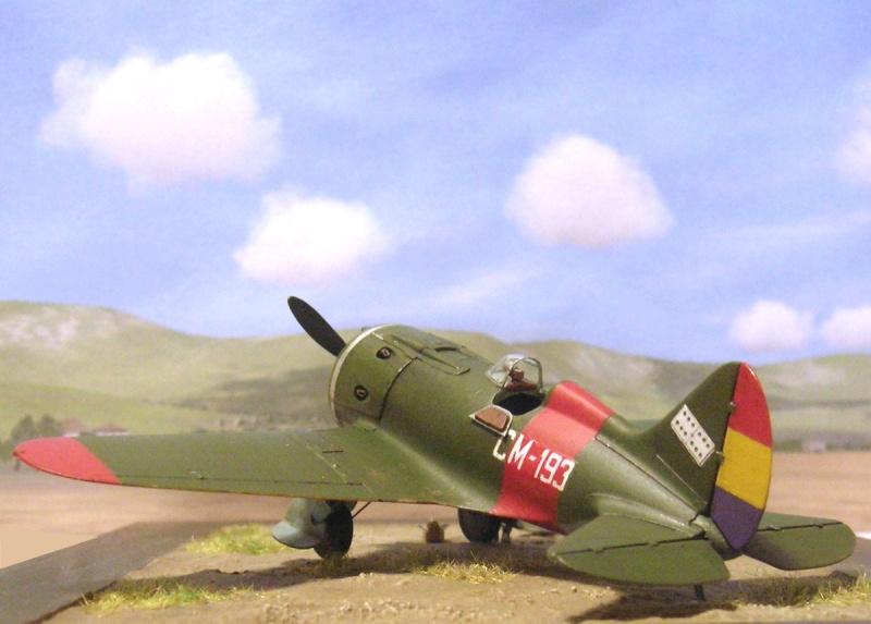 Polikarpov I-16 type 10 1/72 Polika13
