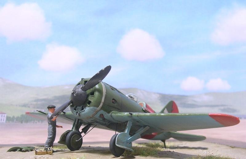 Polikarpov I-16 type 10 1/72 Polika14