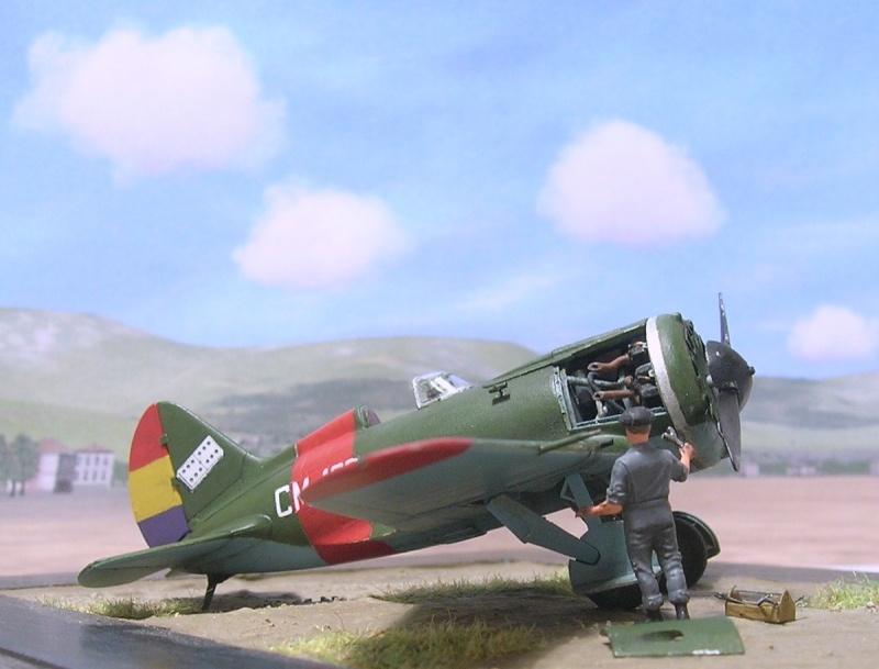 Polikarpov I-16 type 10 1/72 Polika15