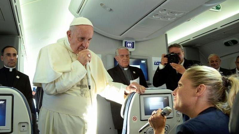 Le message du Pape aprés les évenements Xvmc1810