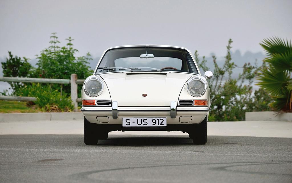 Porsche 912 - Traversée de Paris Dim 31 Juillet 2016 1965-p11
