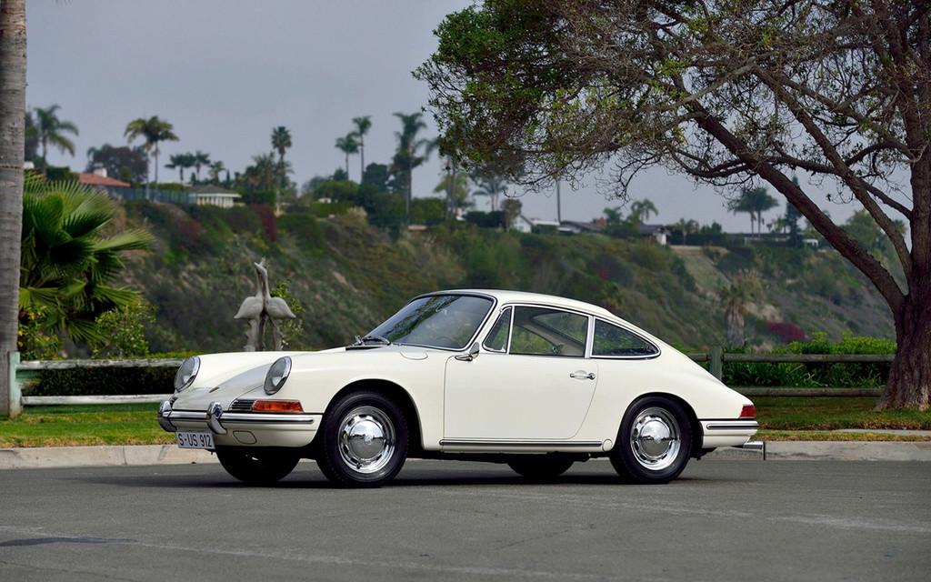 Porsche 912 - Traversée de Paris Dim 31 Juillet 2016 1965-p15