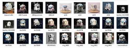 Lunar Excursion Module – Grumman – 1962 – 1/48éme par Tezio 0110