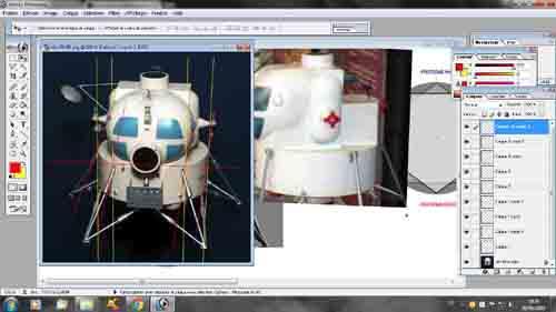 Lunar Excursion Module – Grumman – 1962 – 1/48éme par Tezio 0410