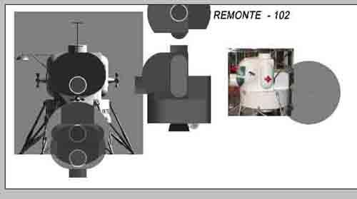 Lunar Excursion Module – Grumman – 1962 – 1/48éme par Tezio 0510