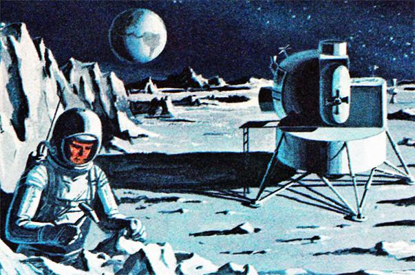 Lunar Excursion Module – Grumman – 1962 – 1/48éme par Tezio 10010