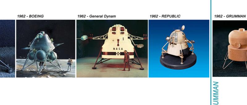 Lunar Excursion Module – Grumman – 1962 – 1/48éme par Tezio Choixf12