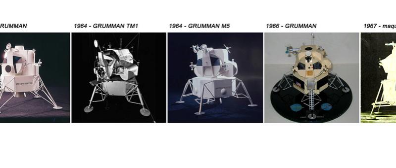 Lunar Excursion Module – Grumman – 1962 – 1/48éme par Tezio Choixf14