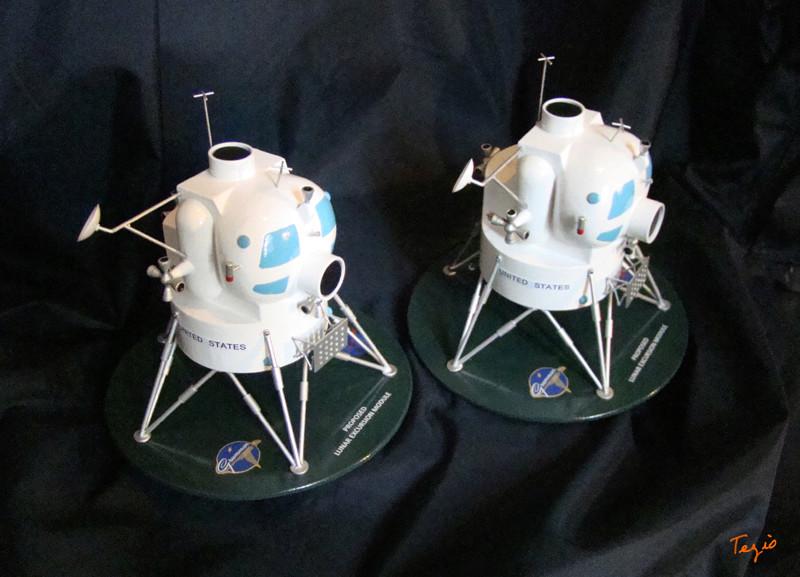 Lunar Excursion Module – Grumman – 1962 – 1/48éme par Tezio Dsc09510