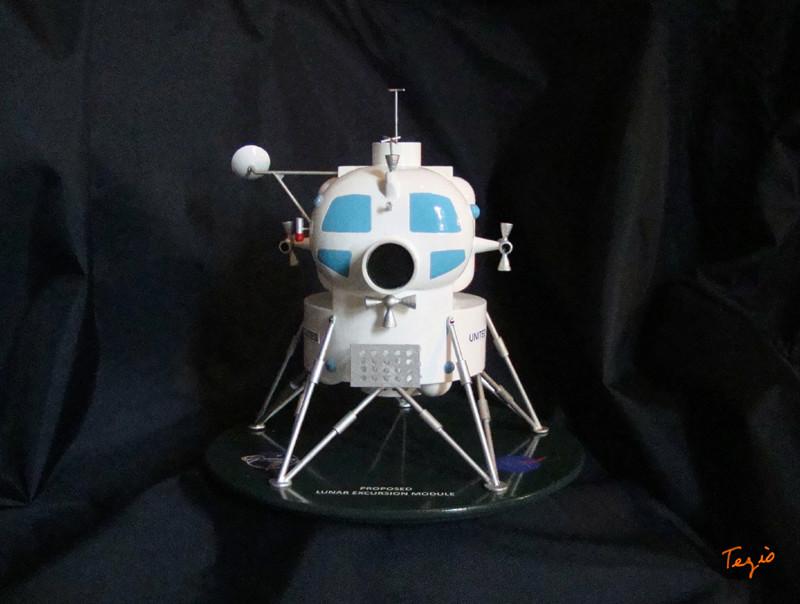 Lunar Excursion Module – Grumman – 1962 – 1/48éme par Tezio Dsc09511