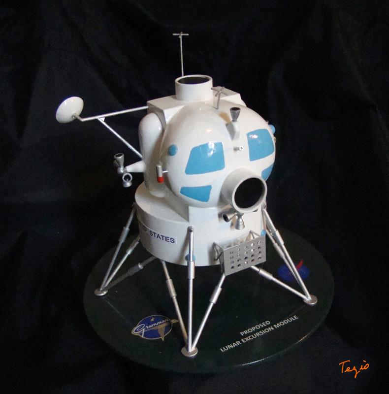 Lunar Excursion Module – Grumman – 1962 – 1/48éme par Tezio Dsc09514