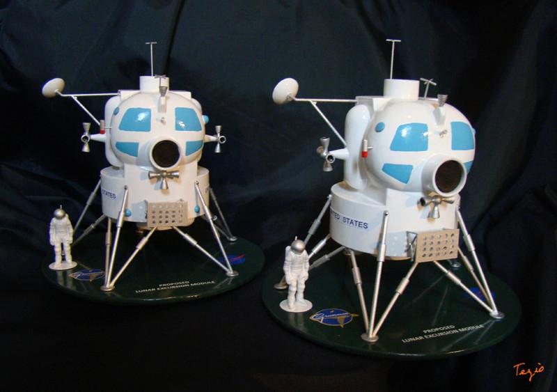 Lunar Excursion Module – Grumman – 1962 – 1/48éme par Tezio Dsc09519