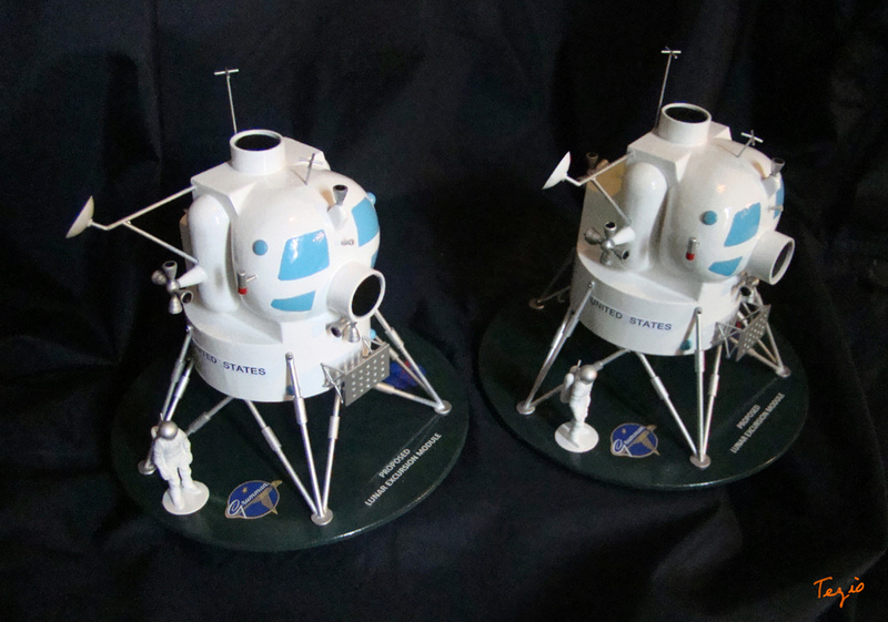 Lunar Excursion Module – Grumman – 1962 – 1/48éme par Tezio Dsc09520