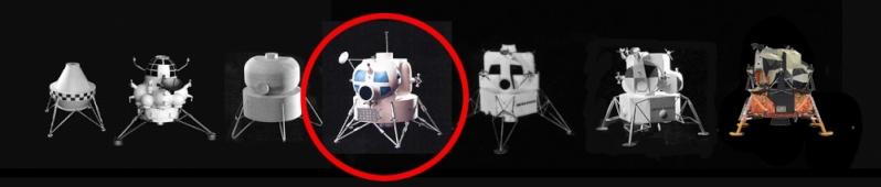Lunar Excursion Module – Grumman – 1962 – 1/48éme par Tezio Evol2b10