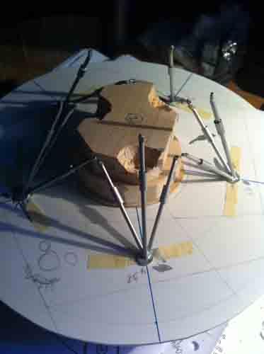 Lunar Excursion Module – Grumman – 1962 – 1/48éme par Tezio Img_2215