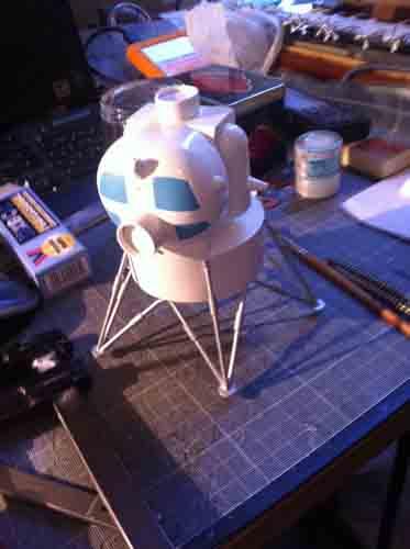 Lunar Excursion Module – Grumman – 1962 – 1/48éme par Tezio Img_2226