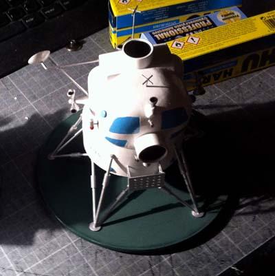 Lunar Excursion Module – Grumman – 1962 – 1/48éme par Tezio Socly10
