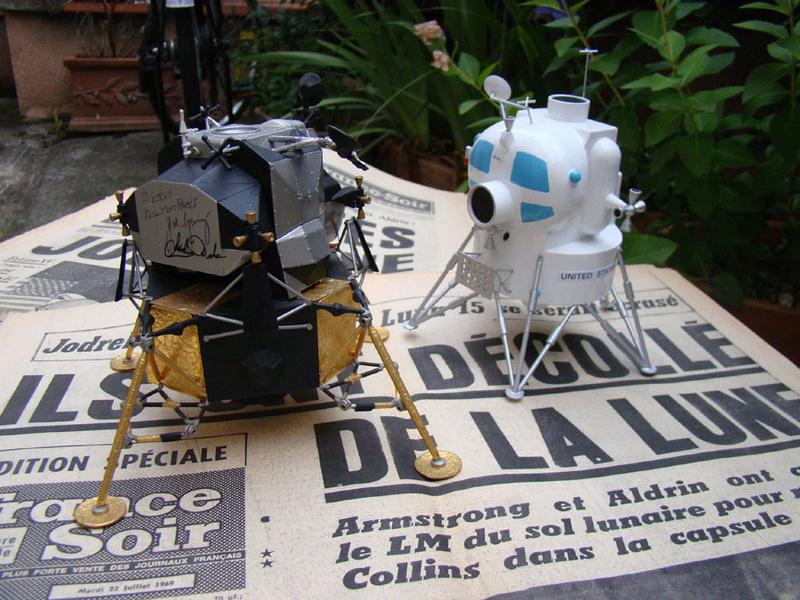 Lunar Excursion Module – Grumman – 1962 – 1/48éme par Tezio Tez211