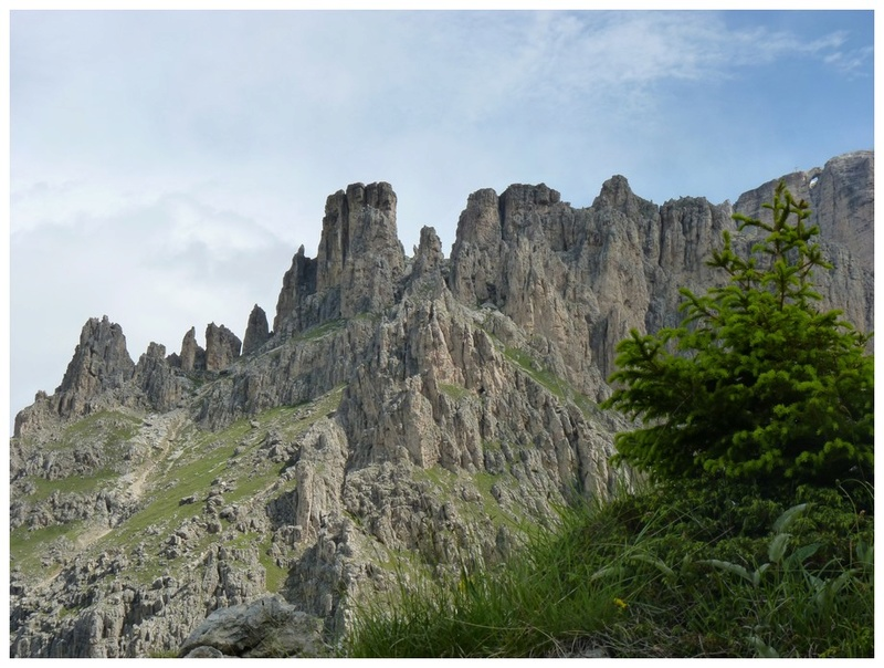 Alpes orientales J5 - Passo Pordoi (It) 4_p11110