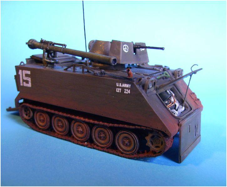 M113 ACAV ,Italeri+Trumpeter 1/72 00115