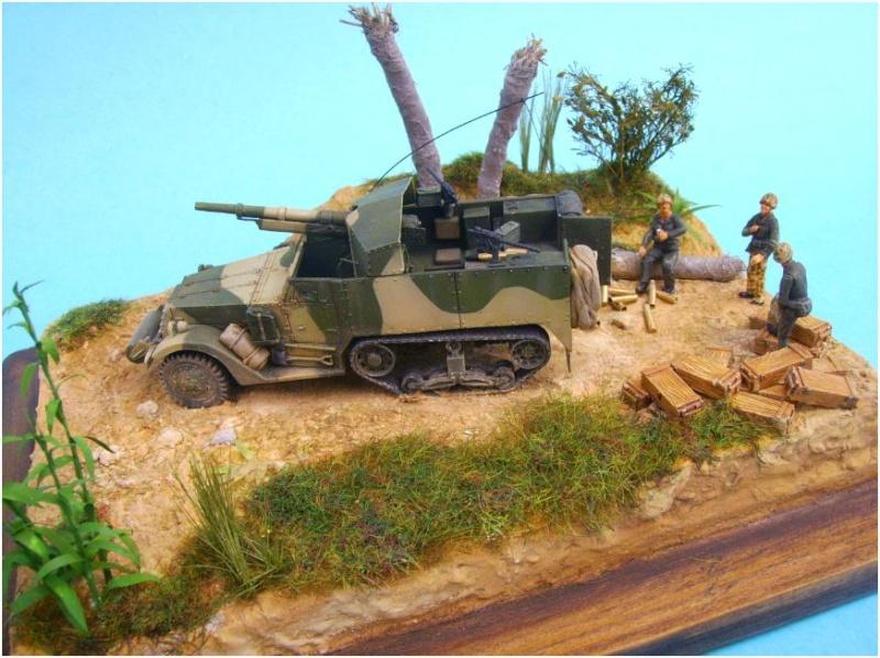 M3 75mm Pacifique Academy +scratch 1/72 00313