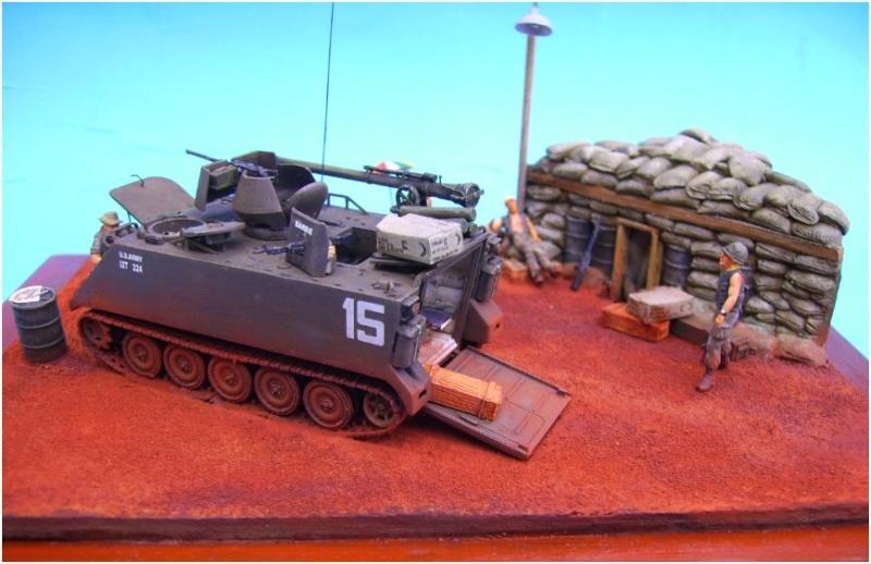 M113 ACAV ,Italeri+Trumpeter 1/72 00316