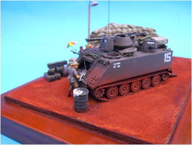 M113 ACAV ,Italeri+Trumpeter 1/72 00417